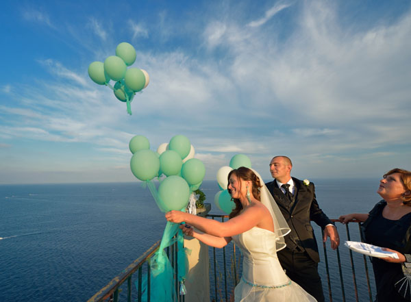 Un matrimonio ispirato al mare Monique e Giovanni  Wedding Wonderland