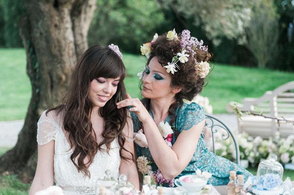 Un matrimonio ispirato a Sogno di una notte di mezza estate  Wedding Wonderland