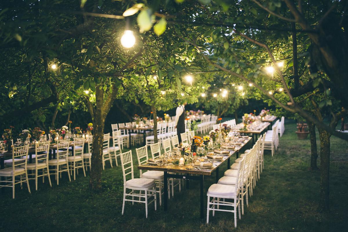 Un matrimonio country chic nel giardino di casa  Wedding