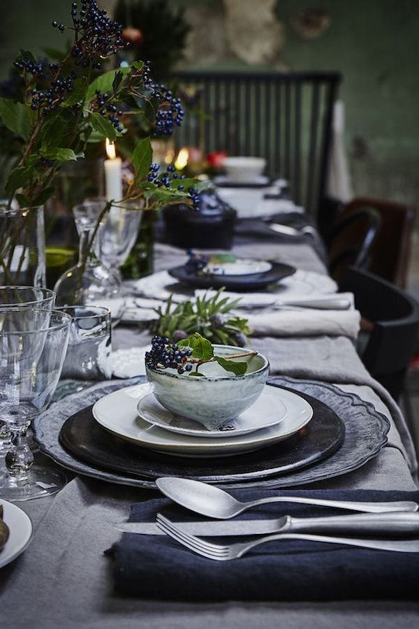 10 idee per la tavola di Natale  Wedding Wonderland