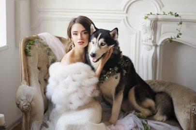 Утепляем невесту: Wedding Fur от студии «Скорнякова Design»