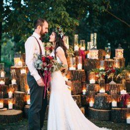 Рубиновые блики любви: свадьба Андрея и Оли