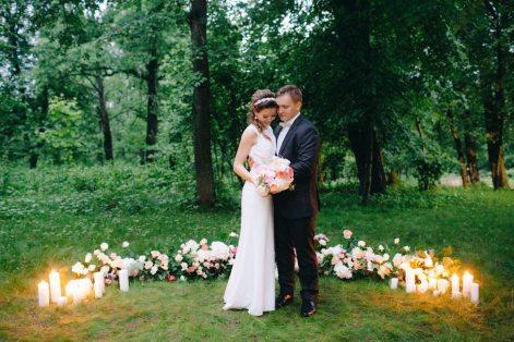 Романтика и нежность чувств: свадьба Сергея и Карины