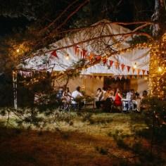 Яблочный спас: свадьба в сосновом лесу