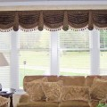 And drapery budget makeover bathroom valance kitchen window valance