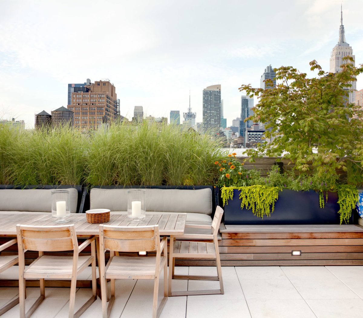 Living Room W Hotel Nyc: WE Design Landscape Architecture
