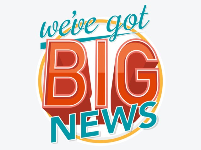 We Have Some Exciting Big News to Share!