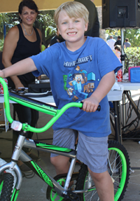 Boy's Bike Winner: Alex Cylc