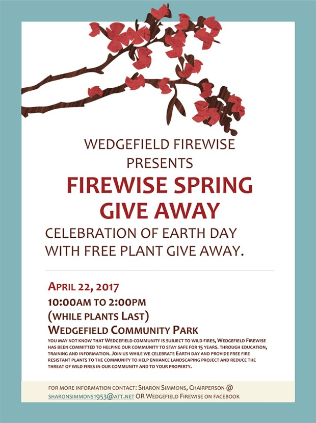 Wedgefield Firewise Spring Give Away