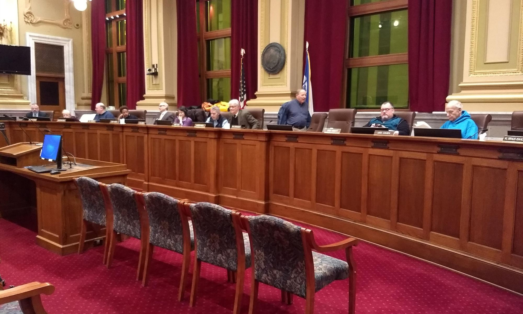 March 6, 2018 meeting of the Minneapolis Charter Commission