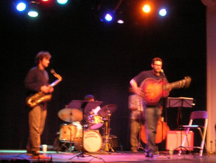 Eric Hofbauer (right) & the Infrared Band