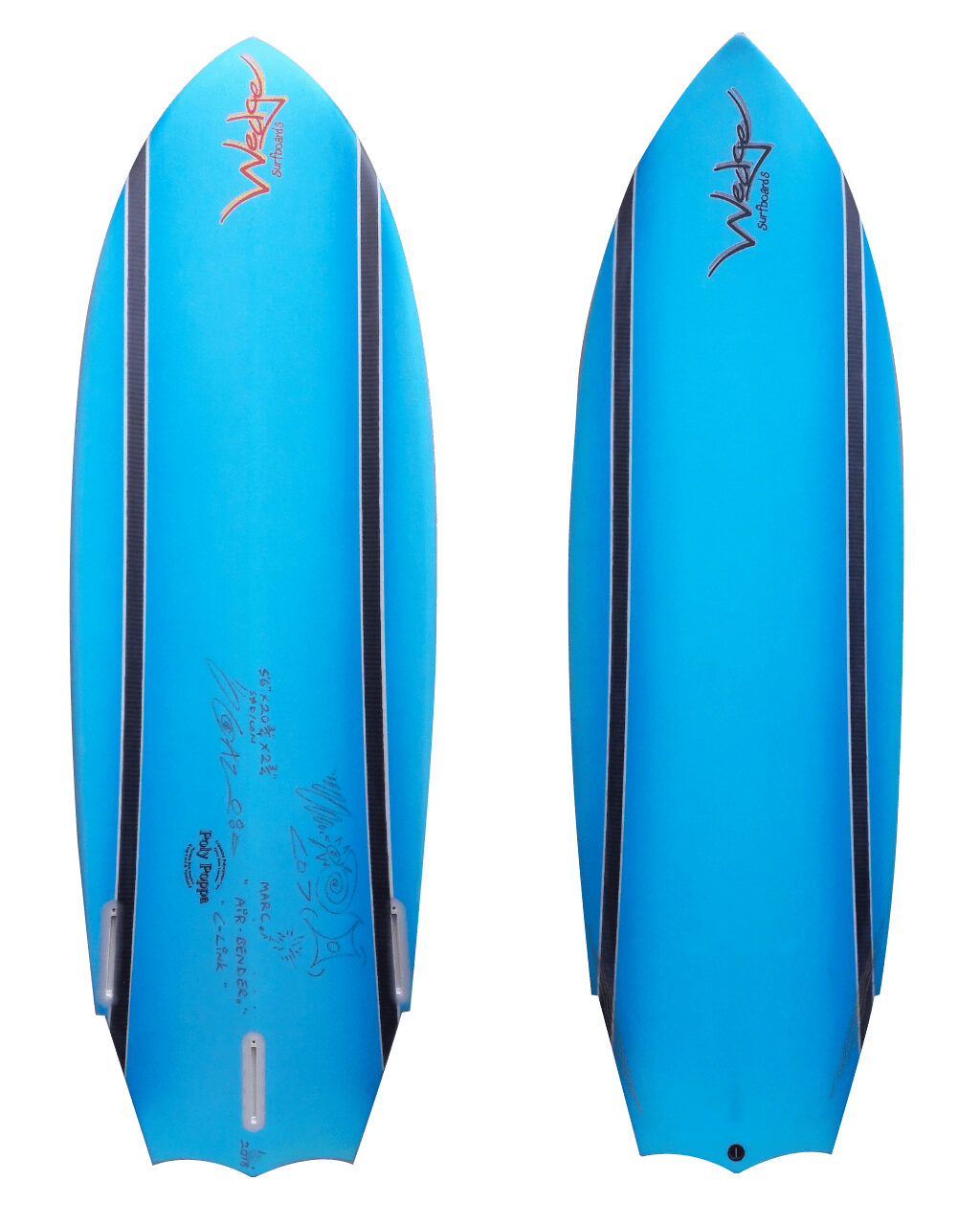 Wedge Surfboards | Custom Epoxy Surfboard