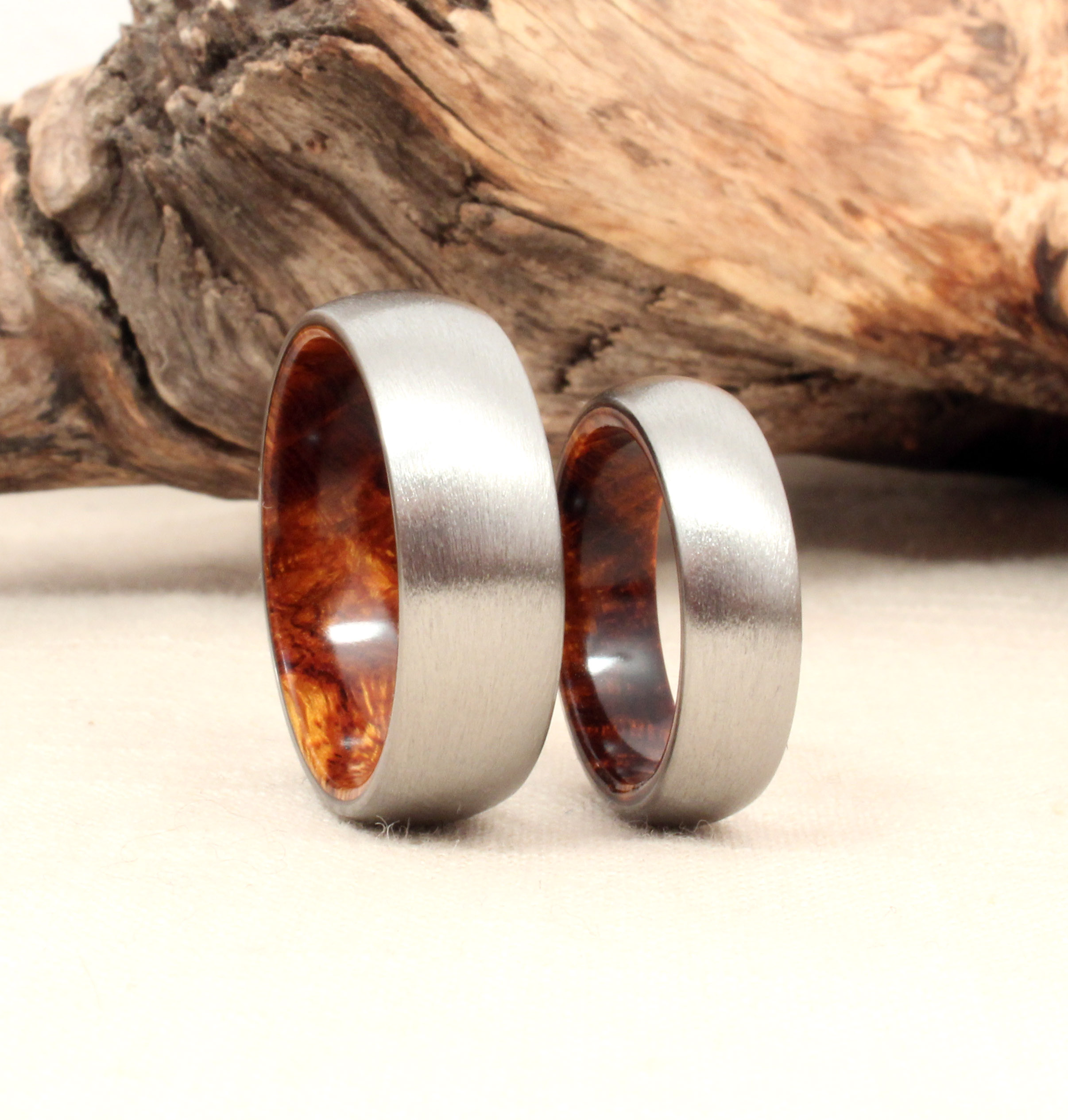 Why Titanium And Wood Rings WedgeWood Rings