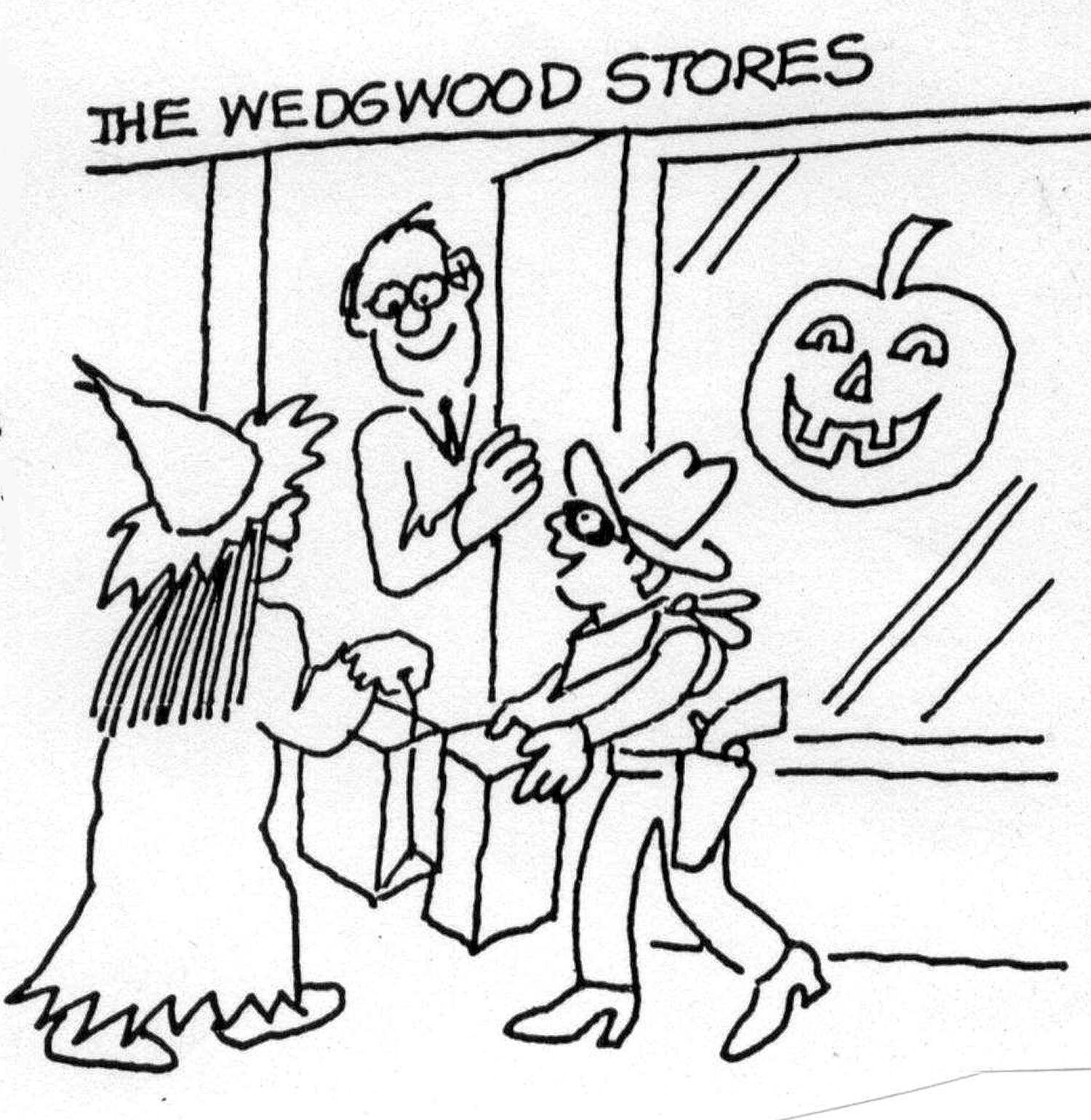 Halloween Trick or Treat in Wedgwood 2014
