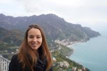 Overlooking the Tyrrhenian Sea