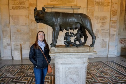 The She-Wolf in the Capitoline Museum