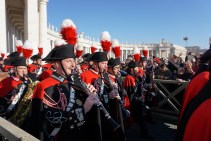 Rome xmas day band