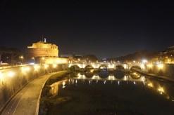 Rome xmas eve bridge