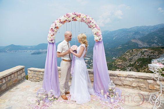 unique wedding ceremony backdrop