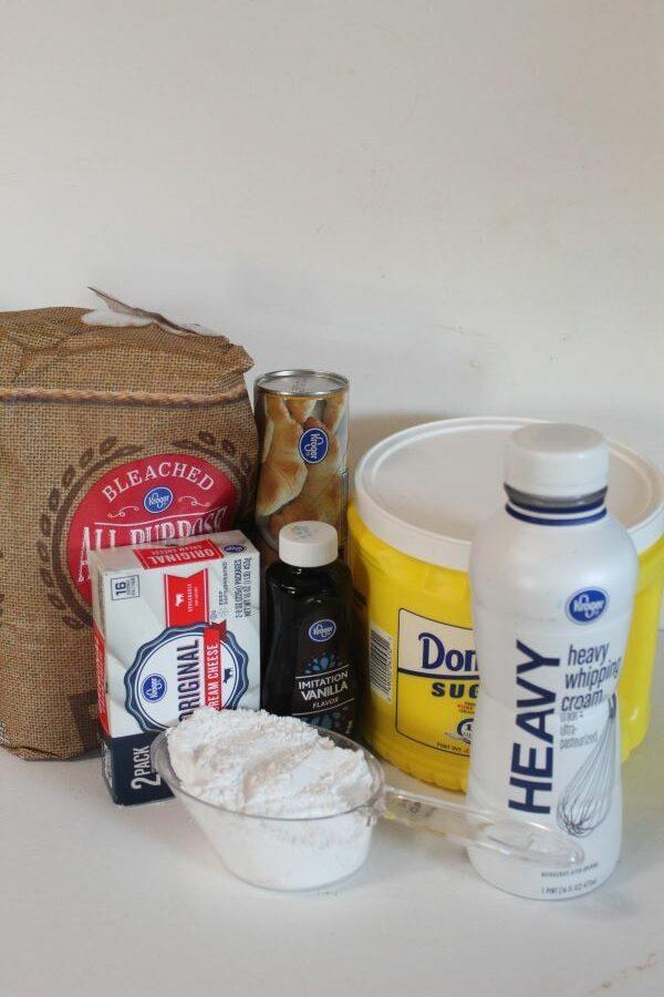 Ingredients for Danish