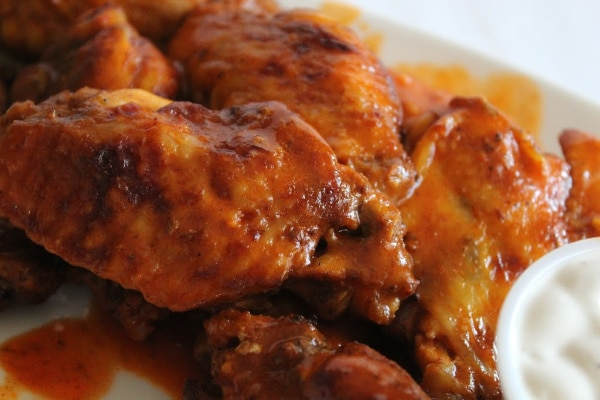 Wings Ready to Serve
