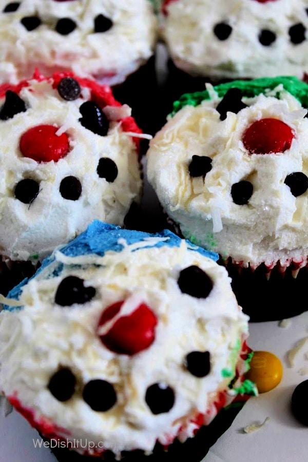 Close up of Cupcakes