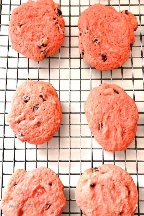 Cookies on Cooling Rack