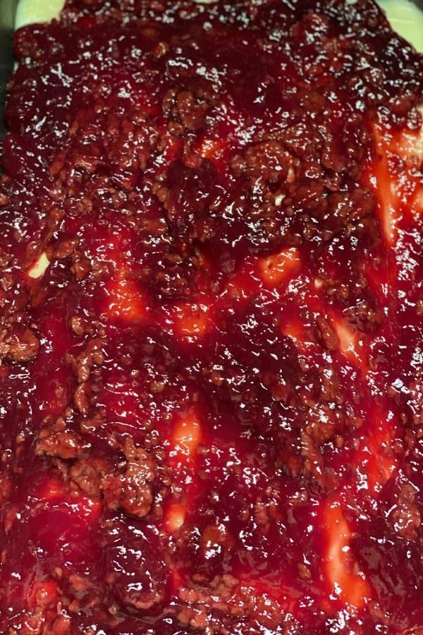 Raspberry Toping added