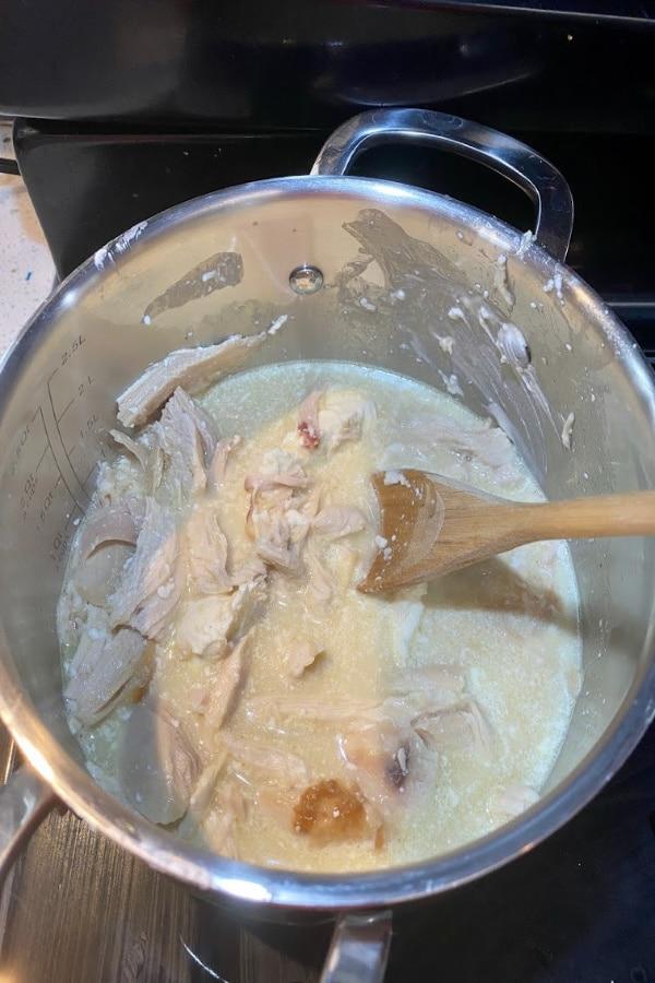 In Process Chicken Chili