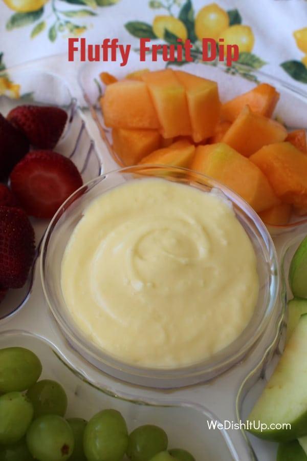 Fluffy Fruit Dip