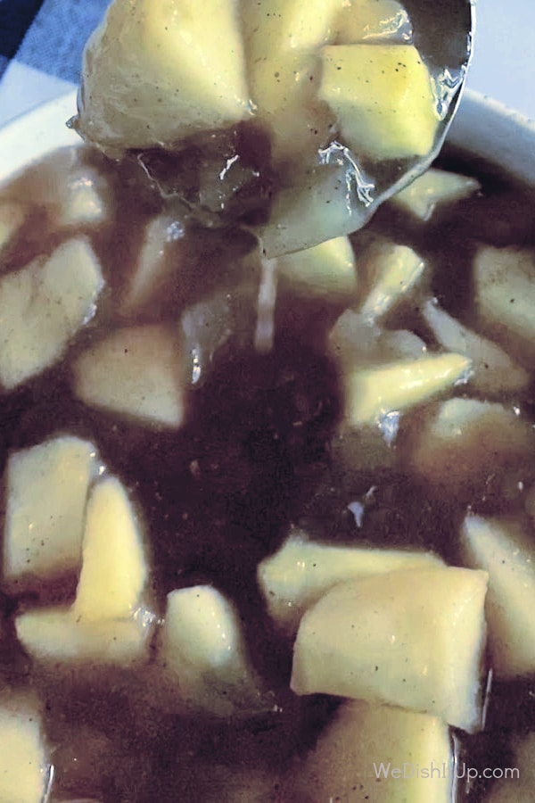 Apples with Laddle