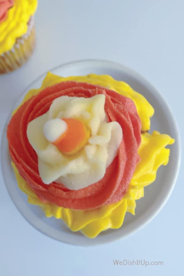Cupcake Top View