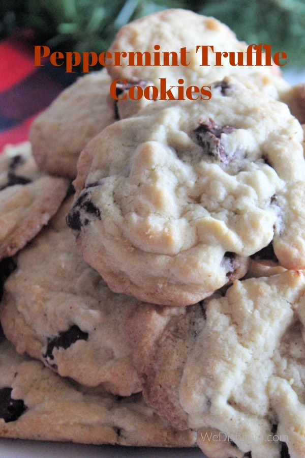 Nestle Toll House Peppermint Truffle Cookies