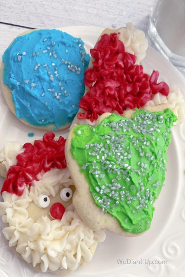 Sour Cream Christmas Cookies
