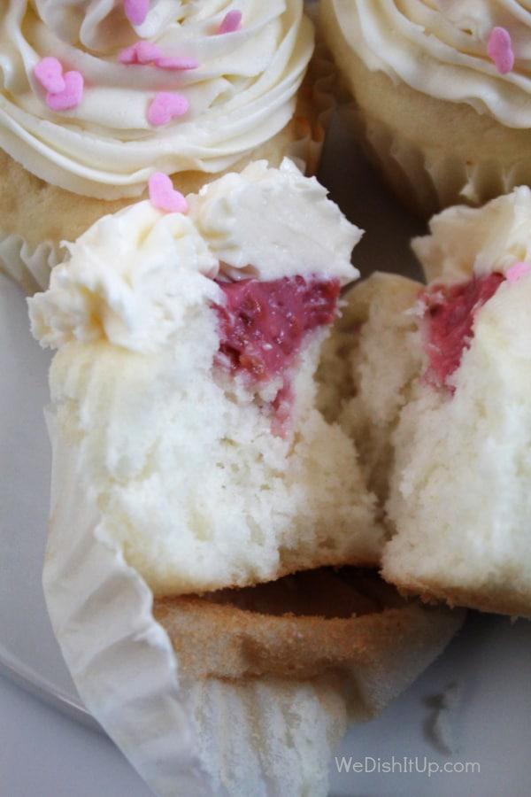 The Best Raspberry Cupcakes