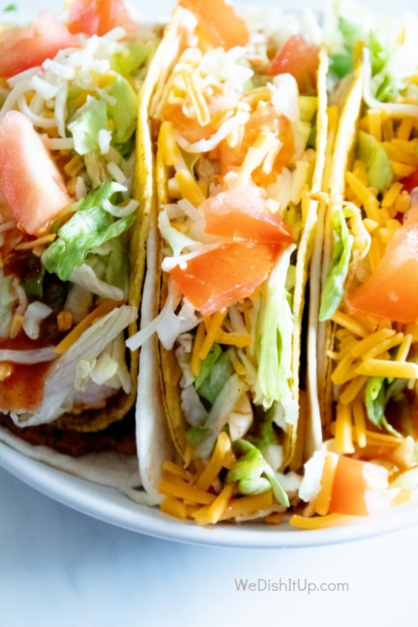 Easy Shredded Chicken Tacos