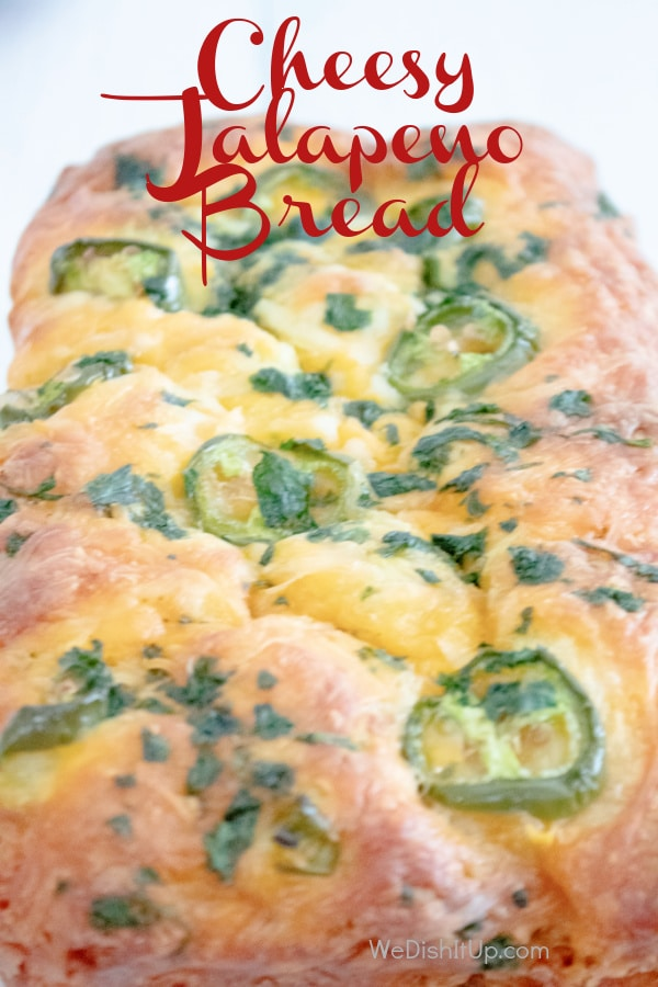 So Easy Cheesy Jalapeno Garlic Pull Apart Bread Recipe