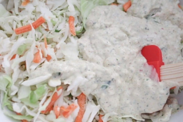 Mixing the Slaw