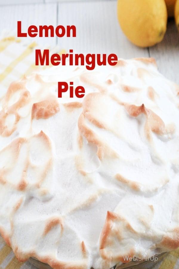 Made From Scratch Lemon Meringue Pie