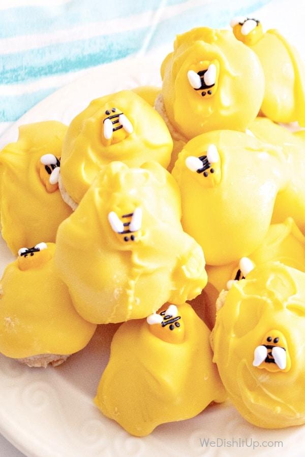 Bumble Bee Hive Cake Balls