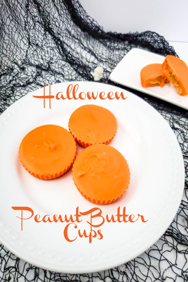 These Easy Halloween Peanut Butter Cups are so good . Not only are they delicious, they are so quick and easy to make. You are going to love them. Bet you cant eat just one.