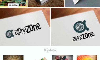 Alphazone Binquedos de Madeira - marketing digital; identidade visual;