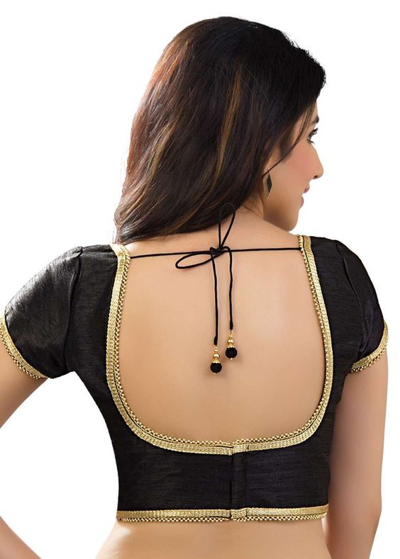 Neck Designs Blouse Back Side View Simple Blouse Back Neck Designs Simple Craft Ideas Discover The Latest Best Selling Shop Women S Shirts High Quality Blouses