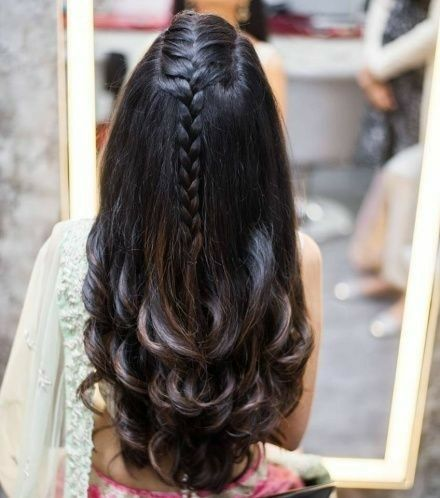 styled haircuts for hair 30 indian bridal wedding hairstyles for to 6169