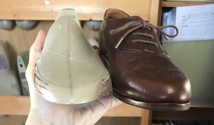 木型から作る靴づくり第49回_木型のセンターラインで悩む