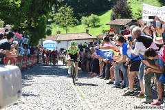 21-05-2017 Giro D'italia; Tappa 15 Valdengo - Bergamo; 2017, Cannondale - Drapac; Rolland, Pierre; Bergamo Alta;