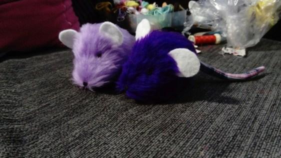 purple mice