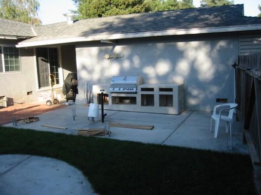 Building the backyard BBQ