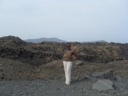 ...atop a volcano...