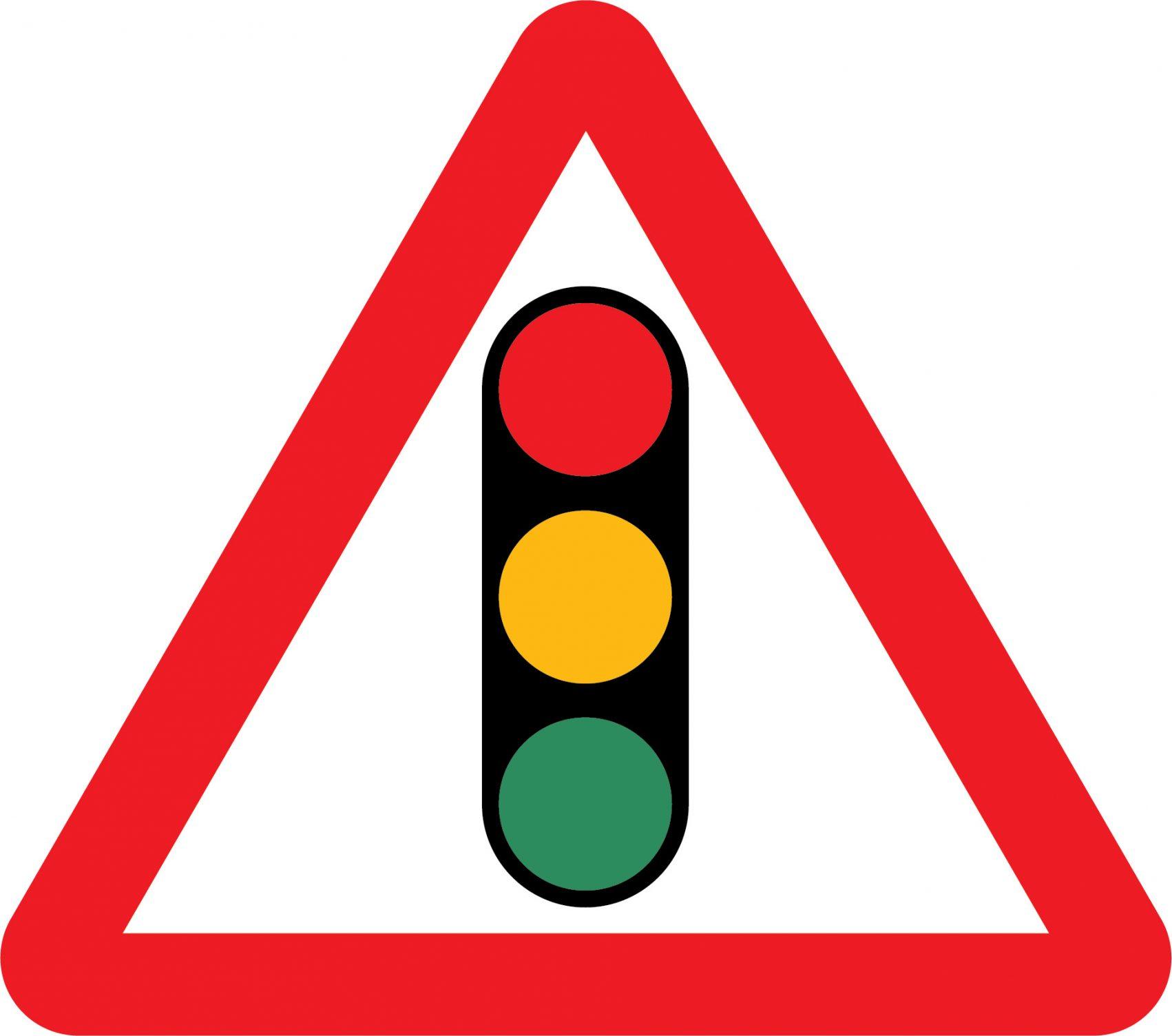 Traffic Signals Road Sign
